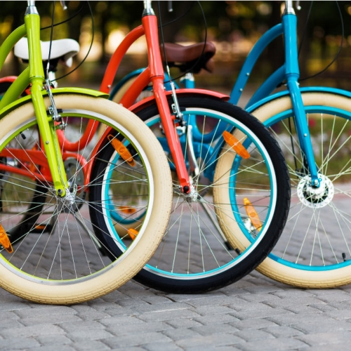 Rent a bike from the Hillel 11 Hotel