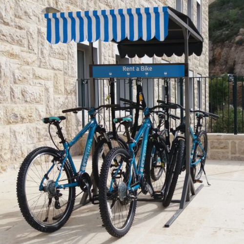 Rent a bike from Hotel Yehuda