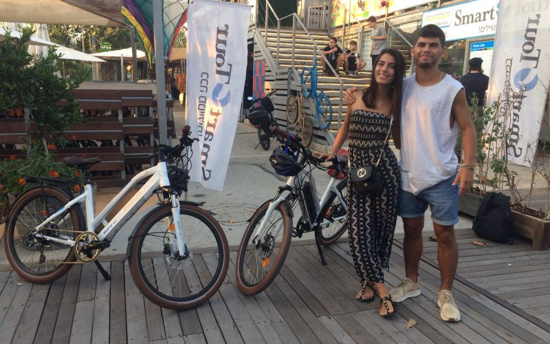 electric bike in jerusalem