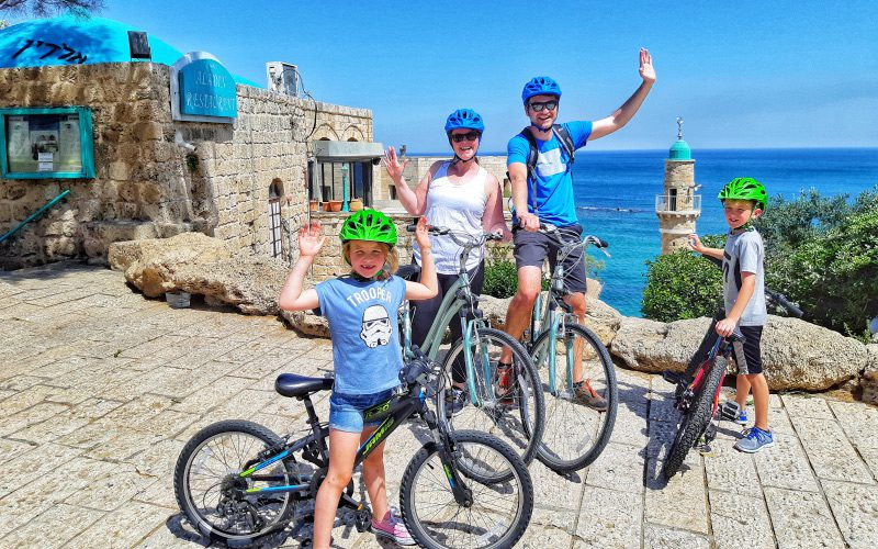 Bike tour Israel